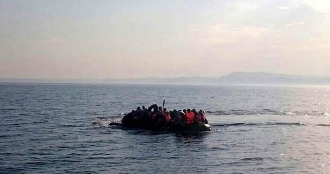 40 kaçak göçmen havasızlıktan boğuldu