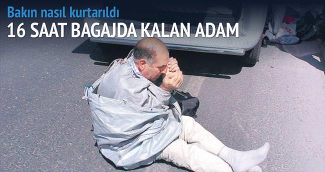 Bagajdaki rehineyi PKK sorgulayacaktı