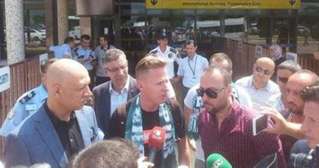 Dzsudzcak özel uçakla Bursa'ya geldi