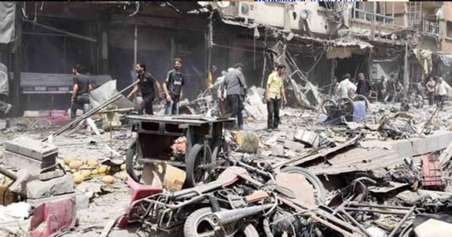 Suriye'de pazar yerine saldırı: Çok sayıda ölü var