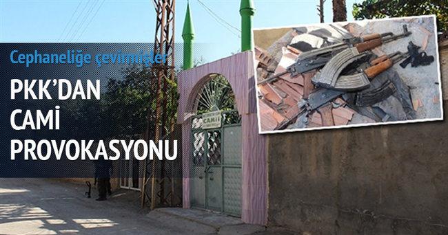Teröristler Mardin'de camiyi cephaneliğe çevirdi