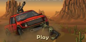 Tehlikeli zombilerden kurtulmak için yapmanız gereken tek şey var, o da Zombi Ezen Araç ile onları ezmektir.