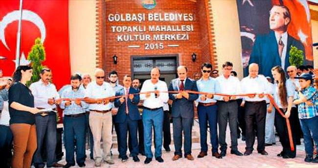 Topaklı'ya kültür merkezi