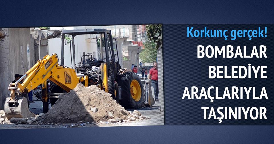 PKK'nın hendeği belediyeden