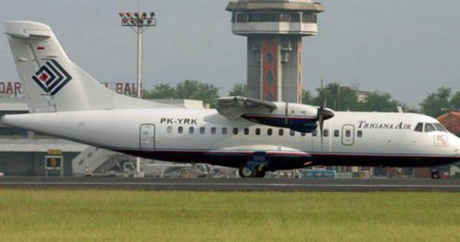 Endonezya'da 54 kişiyi taşırken kaybolan uçağın enkazına ulaşılmaya çalışılıyor