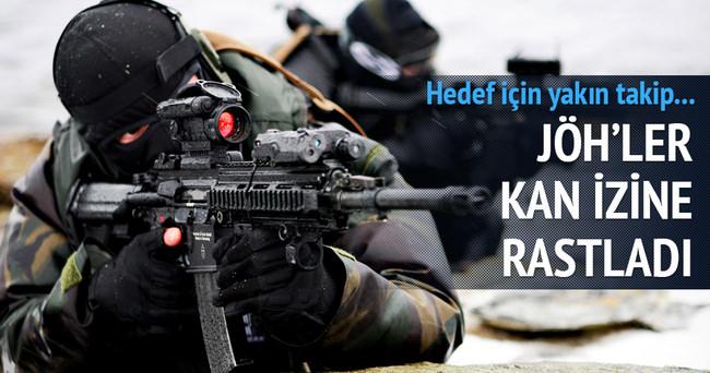 JÖH'ler kaçan PKK'lıların peşinde