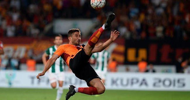 Galatasaray taraftarından Sabri patlaması