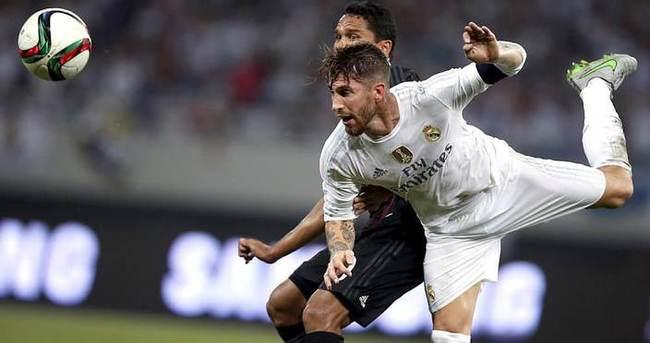 Ramos, Real Madrid'de kaldı