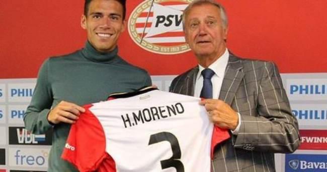 PSV, Hector Moreno'ya imza attırdı