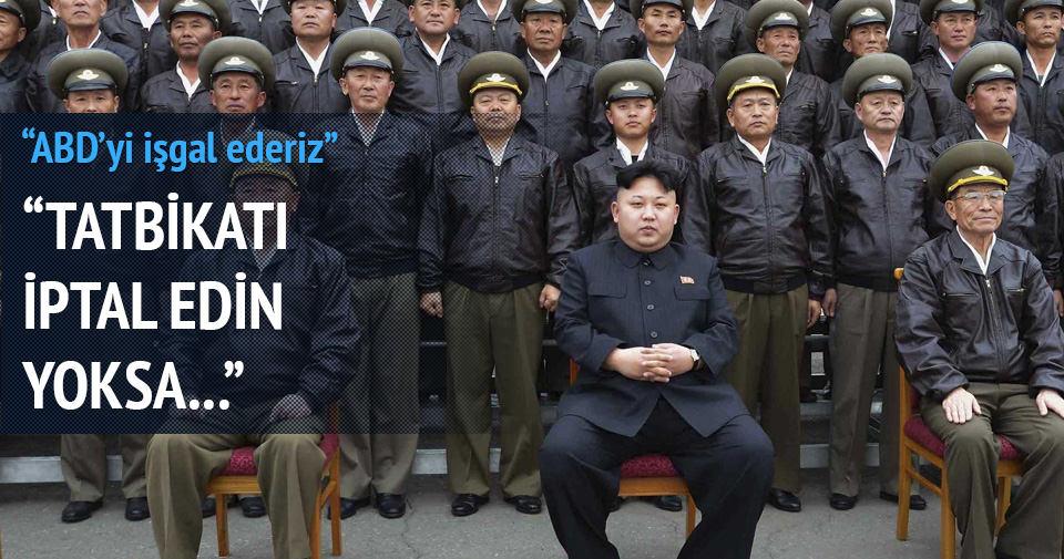 Kuzey Kore ABD'yi işgal etmekle tehdit etti