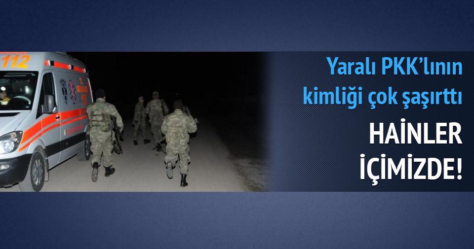 Yaralı PKK'lı belediye çalışanı çıktı