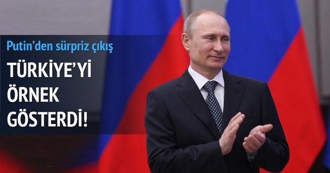 Putin, BRICS için Türkiye modeli önerdi