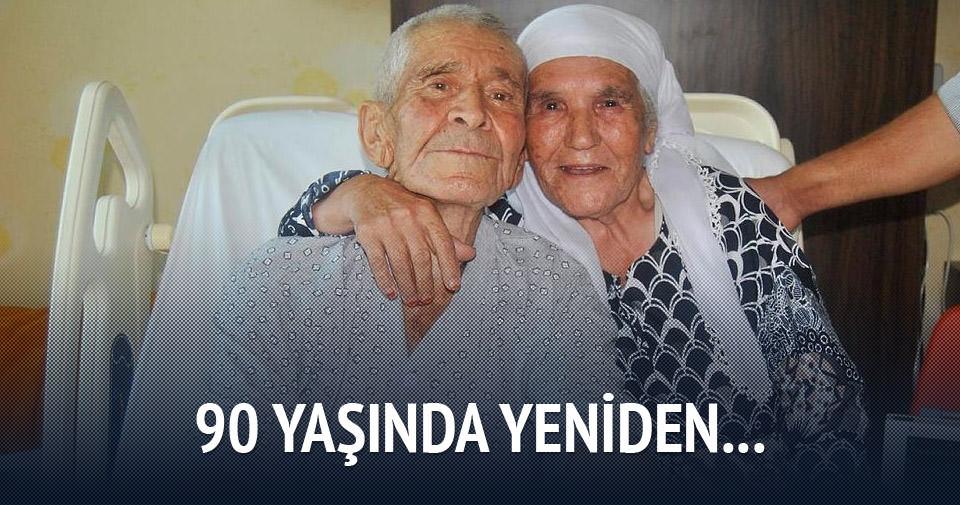 90 yaşında kalp ameliyatı oldu