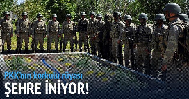 Terör Örgütü PKK'nın korkulu rüyası şehre iniyor!