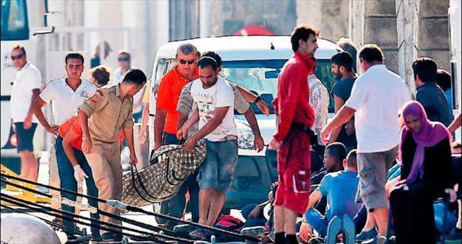 Bodrum'da kaçak teknesi battı: 6 ölü
