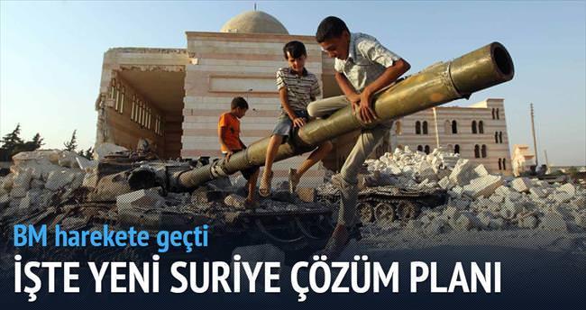 BM'den Suriye için yeni çözüm planı