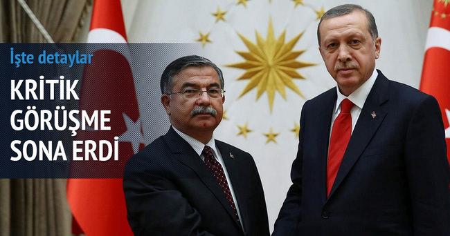 Cumhurbaşkanı Erdoğan, İsmet Yılmaz'ı kabul etti