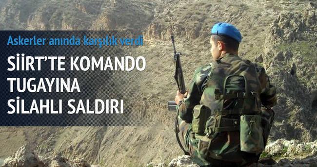 Siirt'te komando tugayına silahlı saldırı