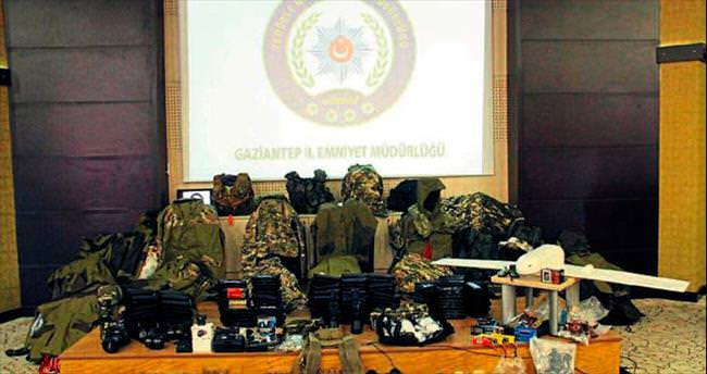 Gaziantep'te DEAŞ üyelerine darbe
