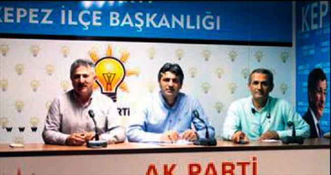 AK Parti Kepez erken seçime hazır