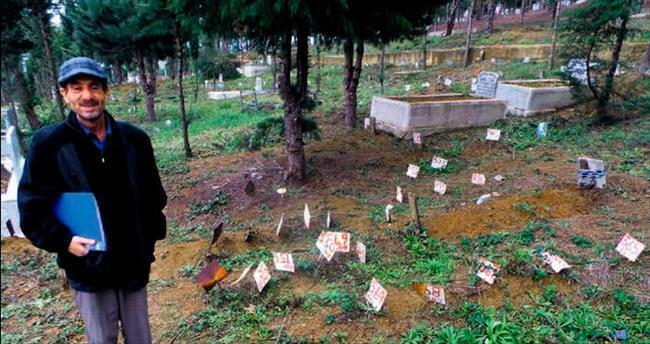 Depremde kaybolan eşini Sinop'a defnedecek