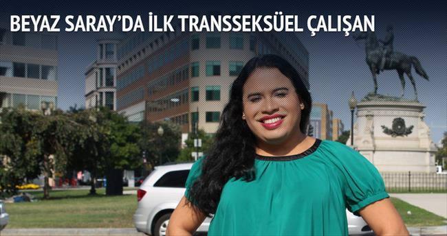 Beyaz Saray'da ilk transseksüel çalışan