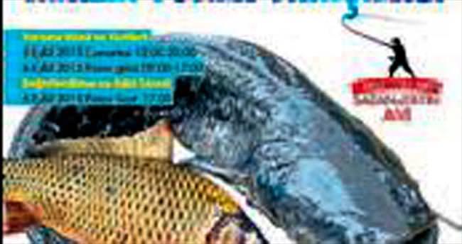 Ödemiş'te balık tutma yarışması