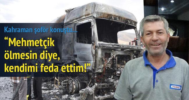 PKK'nın katliamını önleyen tanker şoförüne ödül