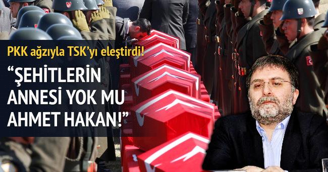 Hürriyet yazarı PKK ağzıyla TSK'yı eleştirdi!