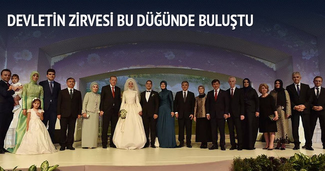 11. Cumhurbaşkanı Gül'ün oğlu Ahmet Münir Gül evlendi