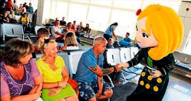 Ece ile Efe turistlere EXPO 2016'yı tanıttı