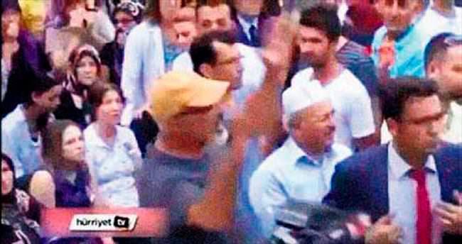 Bakanı protesto eden Dev-Yol'cu çıktı