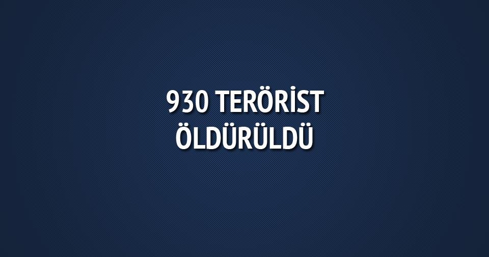 PKK'ya ağır darbe: 31 günde 930 terörist öldürüldü