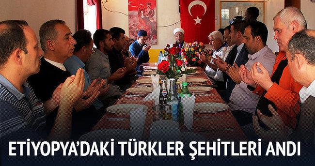 Etiyopya'daki Türklerden Şehitleri Anma Programı