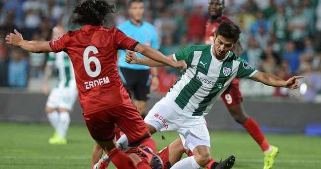 Bursaspor'a son saniye şoku