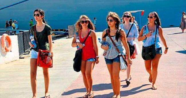 Yunan turistlerin ilgisi çok fazla