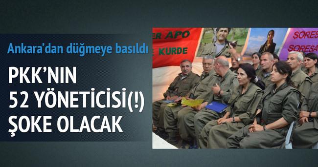 PKK'nın 'A Takımı'ndaki 52 isim için yakalama kararı çıkarıldı