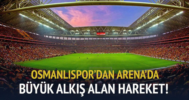 Osmanlıspor'dan şehitler için anlamlı mesaj