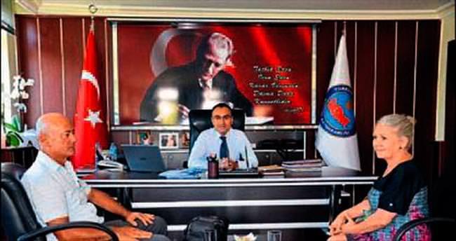 Gazetecilerden Suat Yıldız'a hoş geldin ziyareti