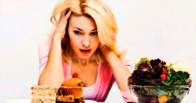 Stres seviyesi kalorili yiyeceklere yöneltiyor