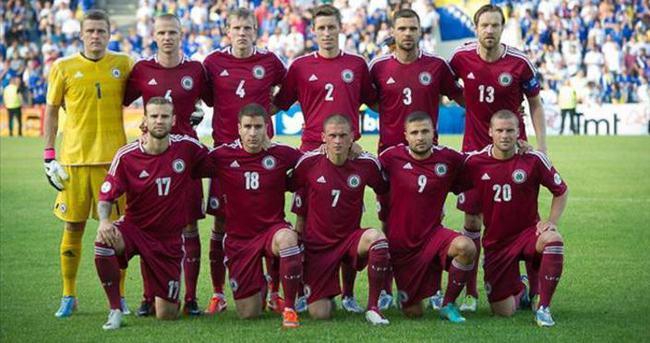 Letonya'nın Türkiye maçı aday kadrosu belli oldu