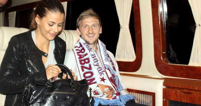 Marko Marin Trabzon'a geldi