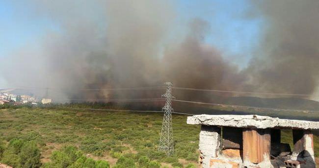 Tuzla'da büyük yangın