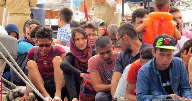 Ege Denizi'nde 215 kaçak yakalandı