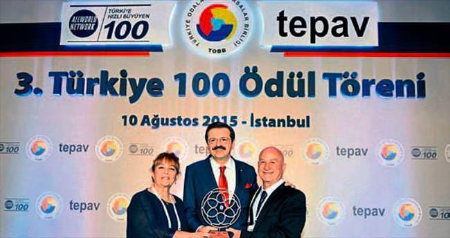 CTG'ye insana sağlık hizmeti ödülü verildi