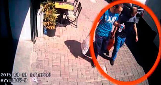 O teröristler adım adım kamerada