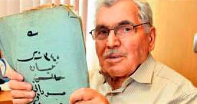 Osmanlı arşivinin Ahmet amcası 86 yaşında