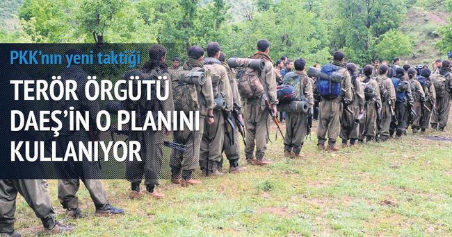 Terör örgütü PKK DAEŞ'ten rol çaldı