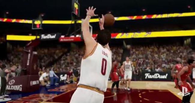 NBA 2K16'nın oynanış videosu