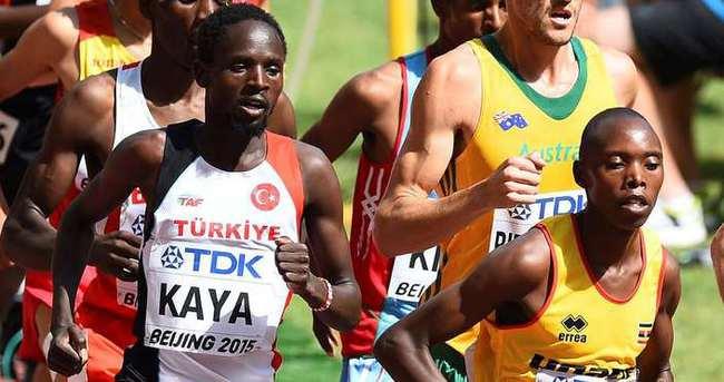 Ali Kaya 5 bin metrede finalde